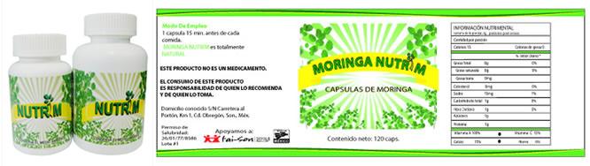 Capsulas de Moringa